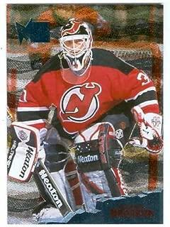 Martin Brodeur hockey card 1996 Fleer Metal #81 (New Jersey Devils)