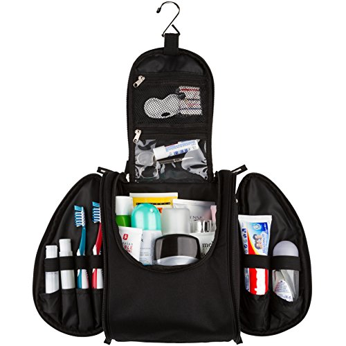 42 Travel Hanging Toiletry Bag – Large Kit Organizer for...