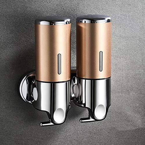 CMWL zeepdispenser 500 ml badkamer muur shampoo plastic douchegel dispenser handwas keukenaccessoires