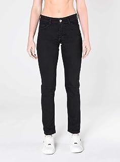 Calça Jeans skinny colorida cintura intermediária Mofficer