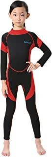 Neoprene Wetsuit for Kids Boys Girls One Piece Swimsuit (FBA)