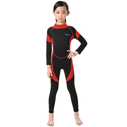 dd91009ed0 Cokar Neoprene Wetsuit for Kids Boys Girls One Piece Swimsuit