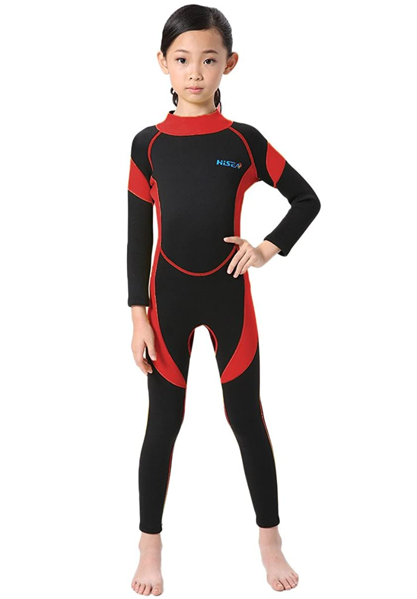 Cokar Neoprene Wetsuit for Kids Boys Girls One Piece Swimsuit (FBA)