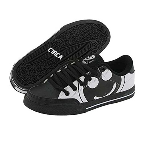 C1RCA Skateboard Schuhe ALK50BWSH Black/White/Super Happy - Circa Kids Shoes, Schuhgrösse:32