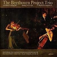 ベートーヴェン:ピアノ三重奏曲 Op. 63, Hess 47/Halm Anhang 3 (ベートーヴェン・プロジェクト・トリオ)