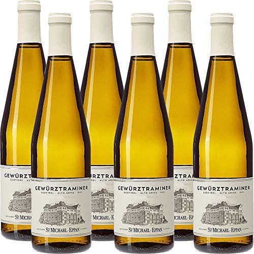 Gewürztraminer Doc | San Michele Appiano | St Michael Eppan | Vino Bianco Sudtirol Alto Adige | 6 Bottiglie 75 Cl | Idea Regalo