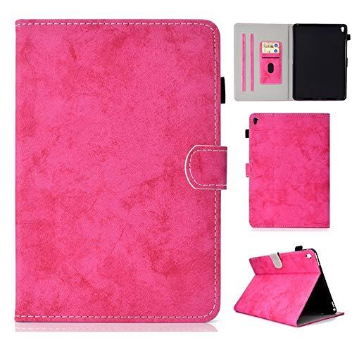 Funda de piel sintética con función atril y función atril para iPad Pro de 9,7 pulgadas (modelo 2016). Color rosa