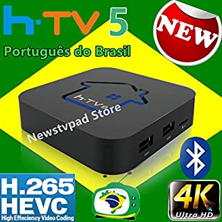 2019 Newest HTV Box Brasil htv Box 6 HTV 5 HTV Box 5 iptv HTV6 Box htv Box Brazilian Portuguese TV Internet Streaming Box Live HD Filmes On Demand TV