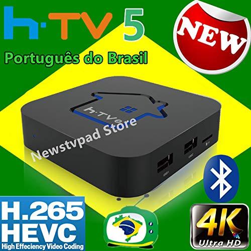 2020 Newest HTV Box Brasil htv Box 6 HTV 5 HTV Box 5 iptv HTV6 Box htv Box Brazilian Portuguese TV Internet Streaming Box Live HD Filmes On Demand TV