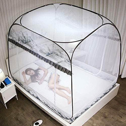 GANG Anti Mosquito Redes Pop Up Mosquito Net Bed Tienda con Mosquitos Inferior Portátil Plegable para Niños Pequeños para Niños Adultos Portátil / 180 * 200 * 170cm