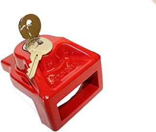 JENDYK GHAL-KD Red Aluminum Glad Hand Lock (Keyed Differently)