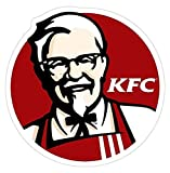 KFC Logo, KFC Decal Sticker - Peel N Stick Sticker Graphic Decal