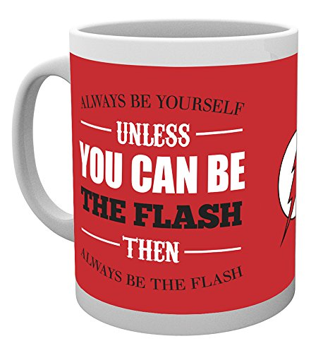 GB Eye, DC Comics, The Flash, Be Yourself, Mug
