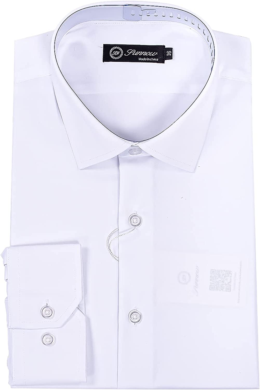 SUNNOW Men's Slim Fit Stretch Dress Shirt Long Sleeve Wrinkle Free Stretch Bamboo Work Shirt