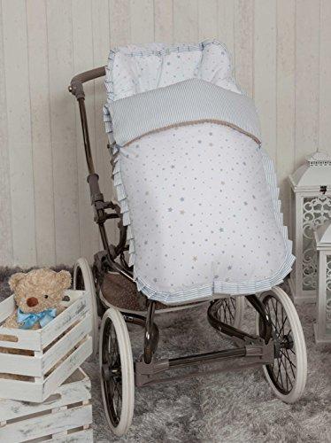 Babyline Suenos - Saco de silla de paseo, color azul