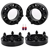 FLYCLE 1.25 inch Wheel Spacers 6x5.5 Compatible with Tacoma 4Runner Tundra FJ Cruise Fortuner with 106mm Center Bore & 12x1.5 Studs