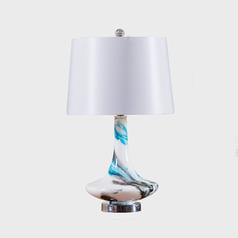 Continental Creative Glass Tischleuchten American Pastoral Pastoral Pastoral Hochzeit Warm Modern Einfache Moderne Schlafzimmer Nachttischlampe B073NMDMQR     | Verrückter Preis  b89ab2