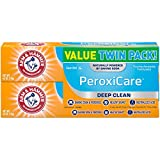ARM & HAMMER Peroxicare Toothpaste, Twin Pack (Contains Two 6oz Tubes) – Clean Mint- Fluoride Toothpaste