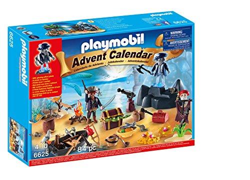 PLAYMOBIL - Calendario de Navidad Isla del Tesoro Pirata (66250)
