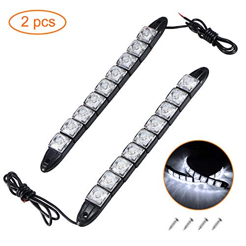 Kinberry LED-Navigationslichter, IP67, wasserdicht, Boot-Bogen-LED-Beleuchtung, Weiß, DF8Q58U521187QHUZ, weiß