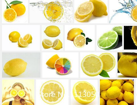Promotion 50 pièces / sac citron graines de fruits Semences Taux de survie Graines bonsaï de fruits pour la maison Gatden balcon Bonsai Seed Novel