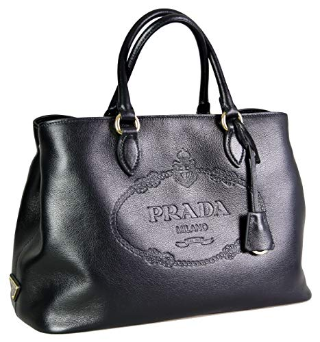 100 Percent Authentic & finest Prada Quality and Craftsmanship. Made of Real Calfskin / Genuine Leather. / height: 24cm / width: 17cm / length: 34cm STANDARD SHIPPING TO USA/CANADA: 10-15 business days || EXPEDITED/PREMIUM SHIPPING TO USA/CANADA: 2-3...