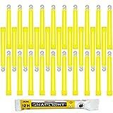Bâton lumineux jaune militaire 12h (x30)