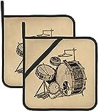Recensione Migliore Set Guanti per Il Grill, Nero, Bruzzzler 200100001081