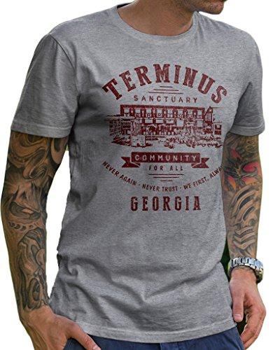 The Walking Dead – Camiseta Terminus – lerage
