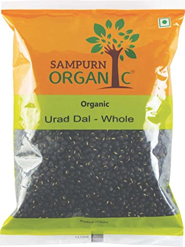 Sampurn Organic Urad Whole 500 g