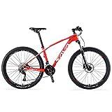 SAVADECK Carbon Fiber Mountain Bike, DECK2.0 MTB 26'/27.5'/29' Complete Hard Tail Mountain Bicycle...
