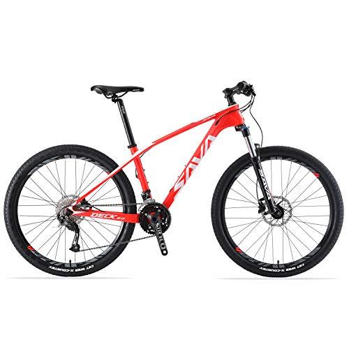 SAVADECK DECK2.0 Mountain bike in fibra di carbonio, MTB 26'/ 27,5' / 29'Bicicletta da montagna con...