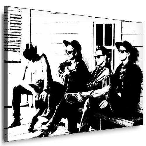"Kunstdruck""Depeche Mode"" / Bild 120x70cm / Leinwandbild fertig auf Keilrahmen/Leinwandbilder, Wandbilder, Poster, Pop Art Gemälde, Kunst - Deko Bilder"