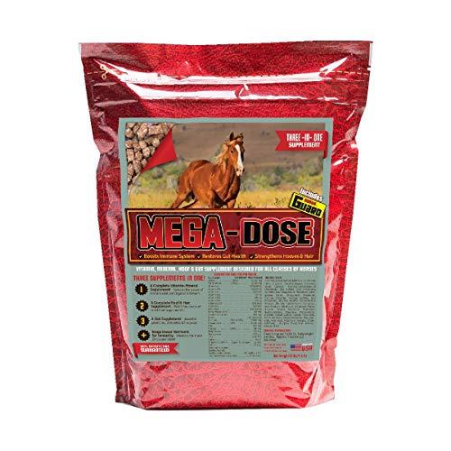 Horse Guard Mega Dose Equine Vitamin Mineral Hoof & Probiotic Supplement, 10 lb