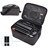 Carrying Bag Compatible with Nintendo Switch Case Portable Soft Travel All Protective Case Large Space Storage Bag for Nintendo Switch Lite & Accessories with Adjustable Shoulder Strap