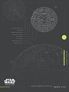 Pyramid International Death Star Plans Canvas, 60 x 80cm, Multi-Colour