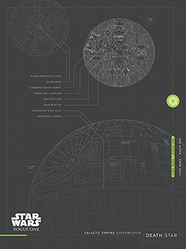 Star Wars Rogue One (Death Star Plans) 60 x 80 cm Toile Imprimée