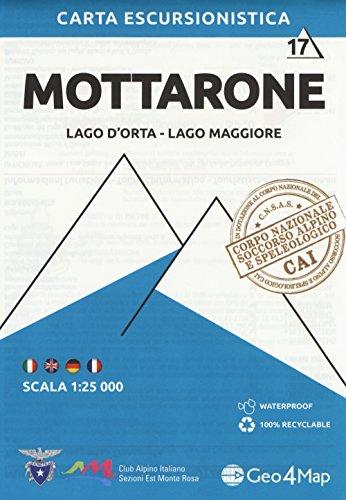 Mottarone 1 : 25.000: Lago D'Orta - Lago Maggiore