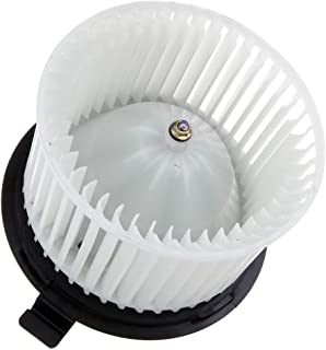 cciyu HVAC Heater Blower Motor with Wheel Fan Cage 75879 Air Conditioning AC Blower Motor fit for 2007 2008 2009 2010 2011 Nissan Versa