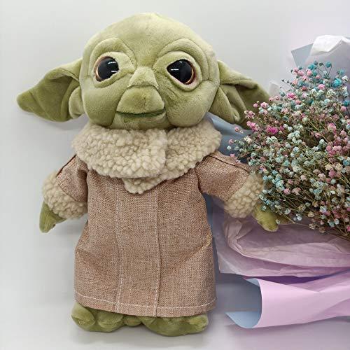 HXST 2020 Baby-Yoda Plüschtiere Kuschelweichtier-Puppen für Kinder Geburtstags-Geschenk