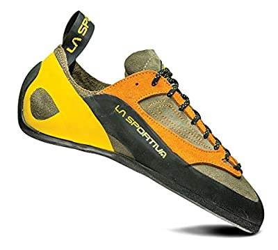 La Sportiva Finale Climbing Shoe, Brown/Orange, 46