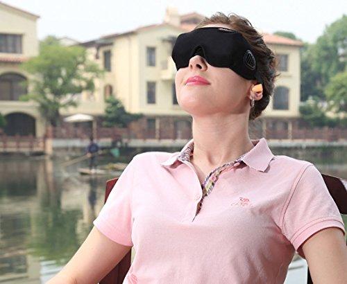 Latta Alvor Máscara de Ojo, 3D Antifaz para Ojos Antifaz para Dormir...