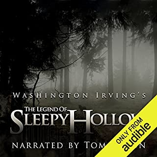 The Legend of Sleepy Hollow                   By:                                                                                                                                 Washington Irving                               Narrated by:                                                                                                                                 Tom Mison                      Length: 1 hr and 15 mins     5,356 ratings     Overall 4.2