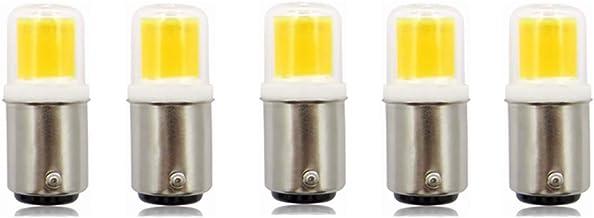 Led Bulbs, BA15D LED Light Bulbs 3W (Replaces 30W) 300lm 3000K/6000K, Dimmable AC100-130V 360° Beam Angle,5-Pack led light...