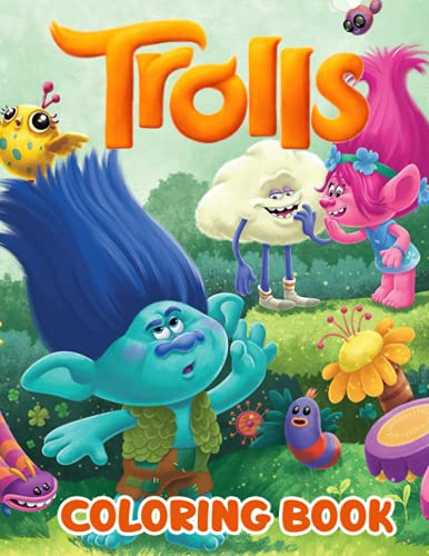 Troll Coloring Book: A Fantastic Book For Fans Of...