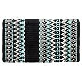 Tahoe Tack 34' x 38' Livia New Zealand Wool Western Show Saddle Blanket Pad