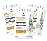 Aviate Lupini Flakes | Keto & Vegan Friendly Superfood | Non-GMO, Gluten Free | High Protein, Low Calorie, & Low Carb | Rich in Dietary Fiber and Minerals | 100% Lupin Beans | 12 Ounces, 3 Pack