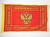 AZ FLAG Flagge RUSSISCHE STREITKRÄFTE 90x60cm - Russland Fahne 60 x 90 cm Scheide für Mast - flaggen Top Qualität