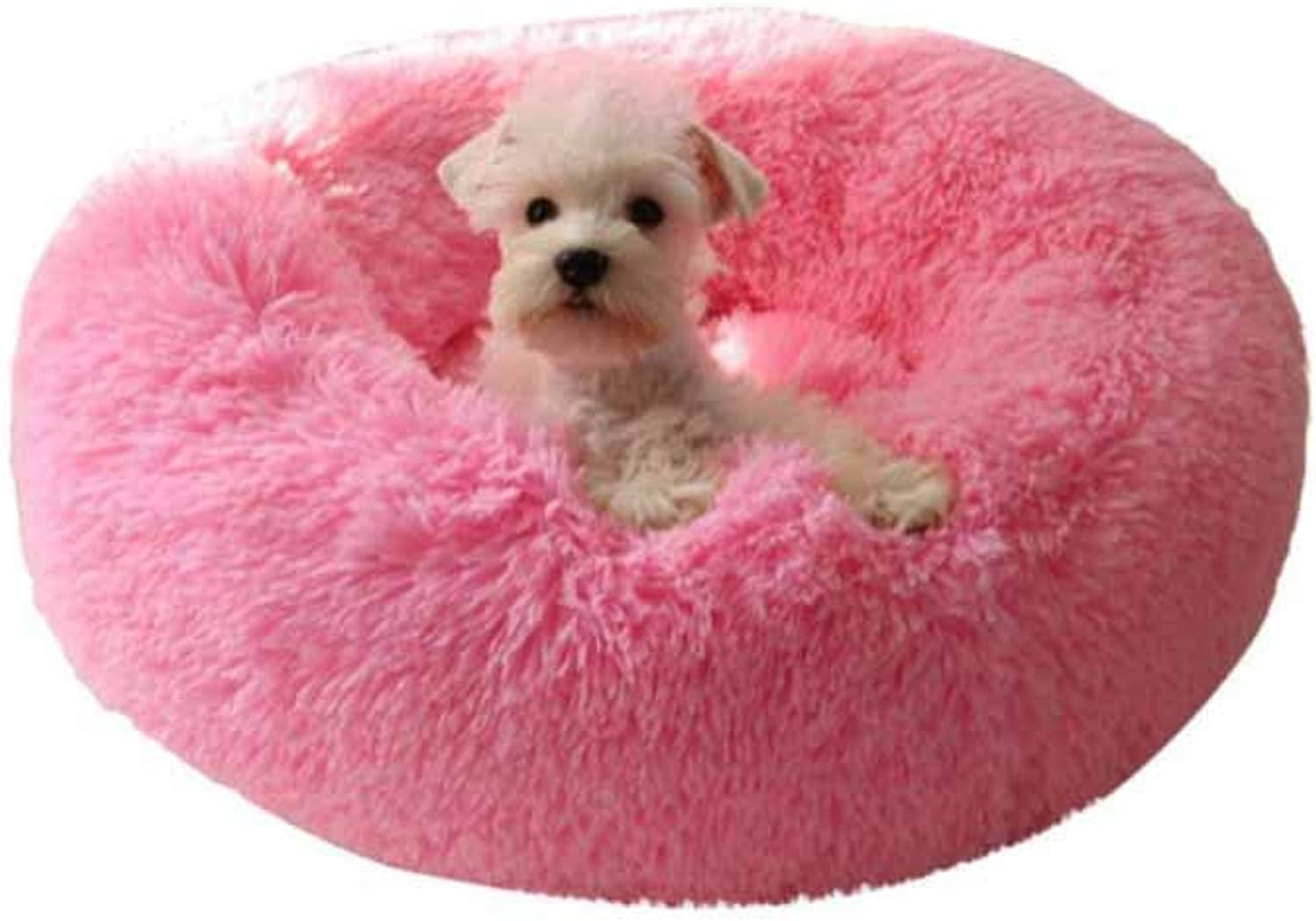 Muziwenju Kennel, Dog Mat, Warm In Autumn And Winter, Thickened Small And Medium Dogs Teddy, Bichon Pet Litter, Cat And Dog Supplies (color   Brown, Size   S)