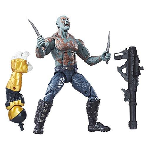 Guardianes de la Galaxia - Figura de Acción de Drax, 15 cm (Hasbro C0618EU4)